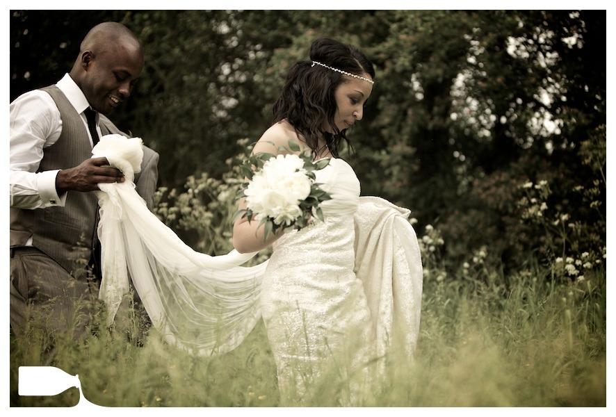 wedding photography bedford wedding dress