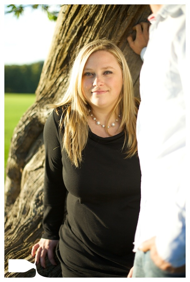 pre-wedding shoot knebworth park low sun
