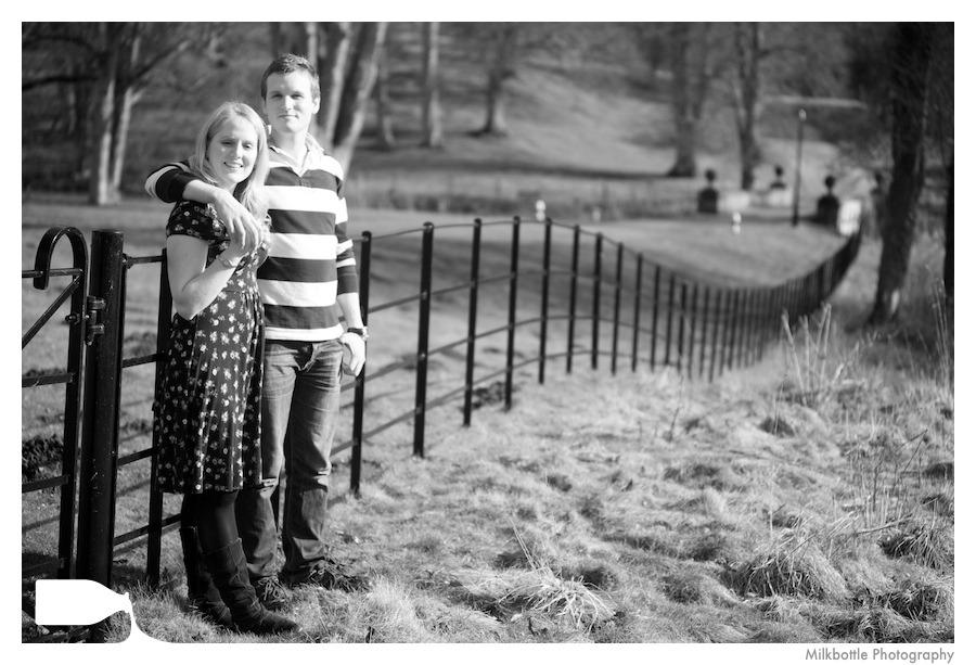 Pre wedding photography stoke rotchford hall