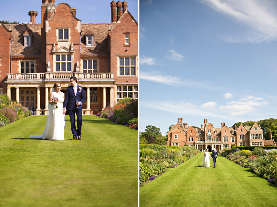 Creative Wedding photography Longstowe Hall