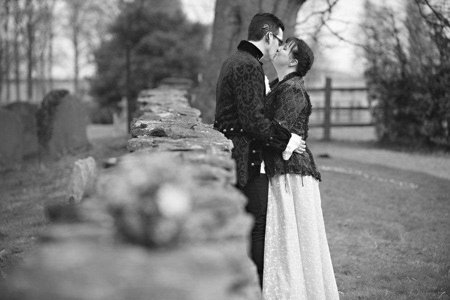 steampunk wedding photography