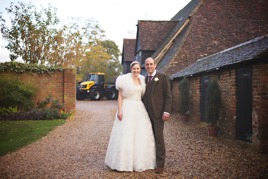 wedding photos priory barns little wymondley