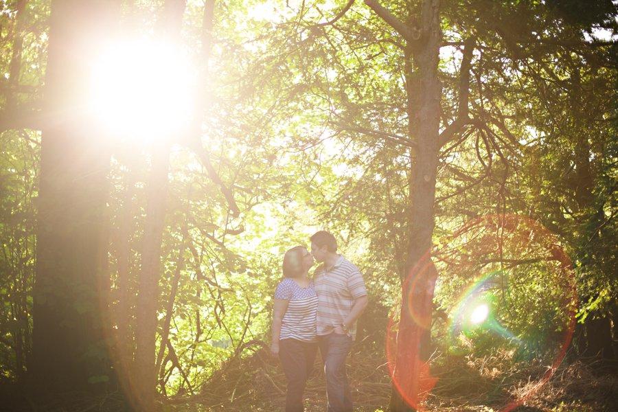engagement shoot tring park