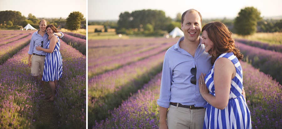 wedding photos lavender fields