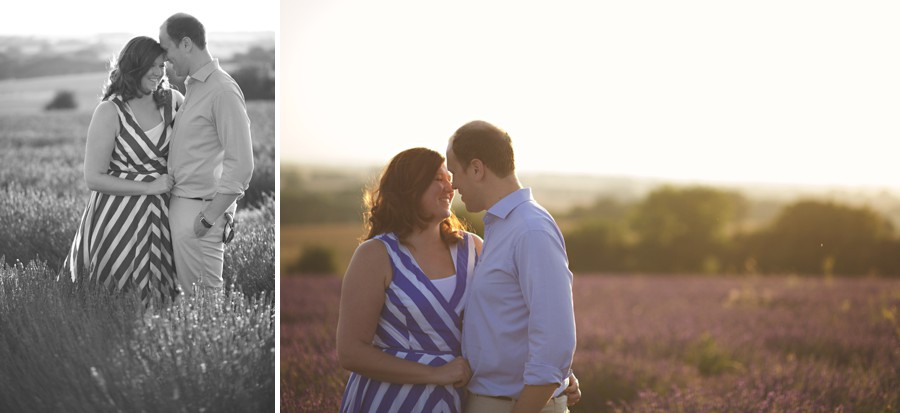 wedding photographer lavender fields