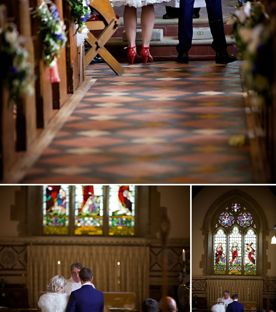 traditional church wedding photography