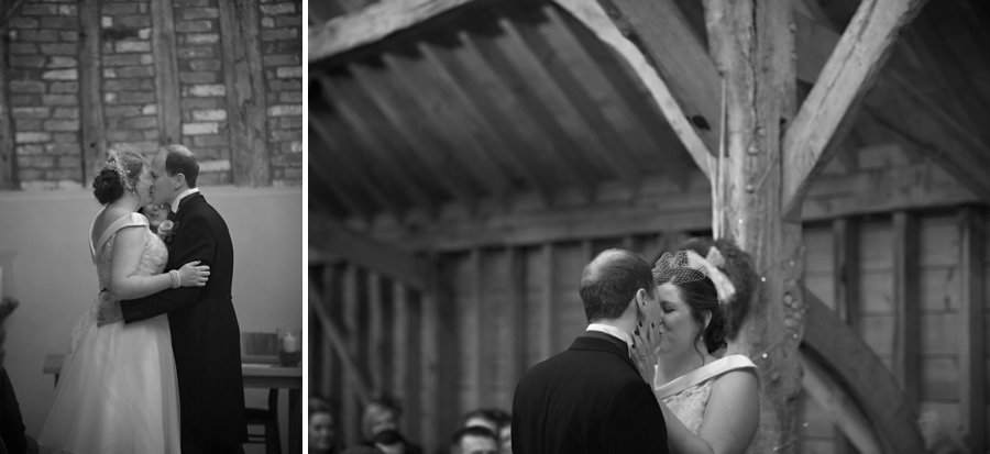 wedding rickety barns bassmead manor barns