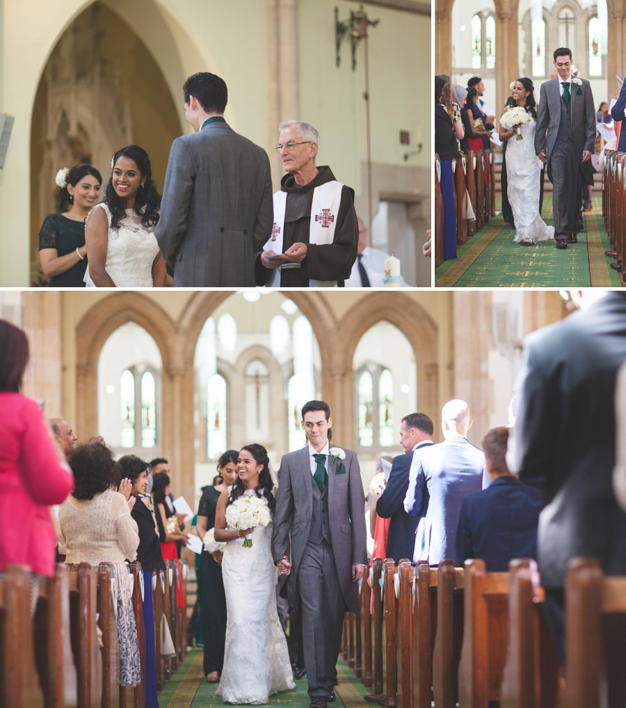 st Thomas of Canterbury church wedding photography