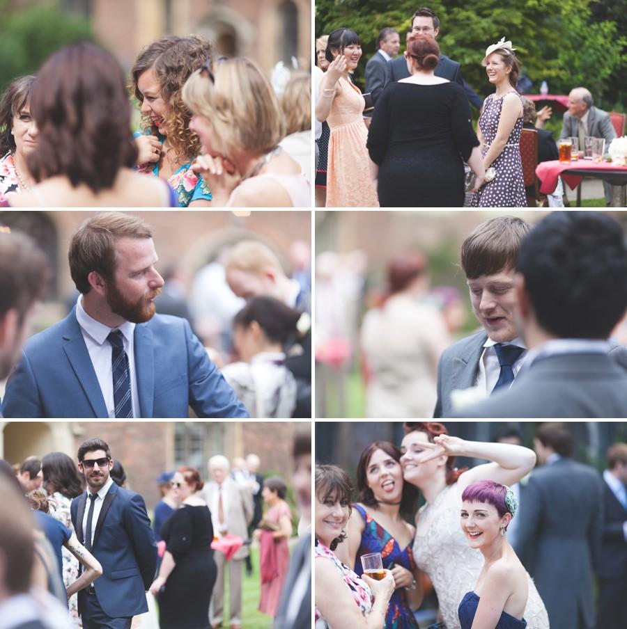 Queens College Cambridge wedding photography