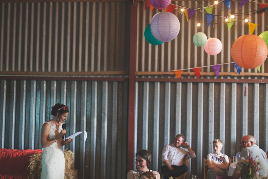 wedding in a barn wedding