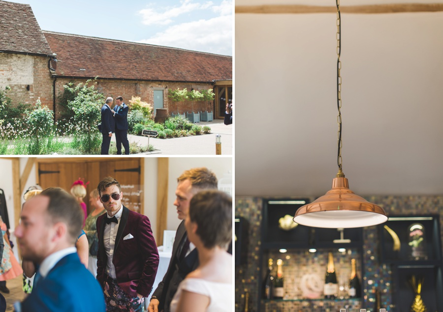 bassmead manor barn wedding photographer