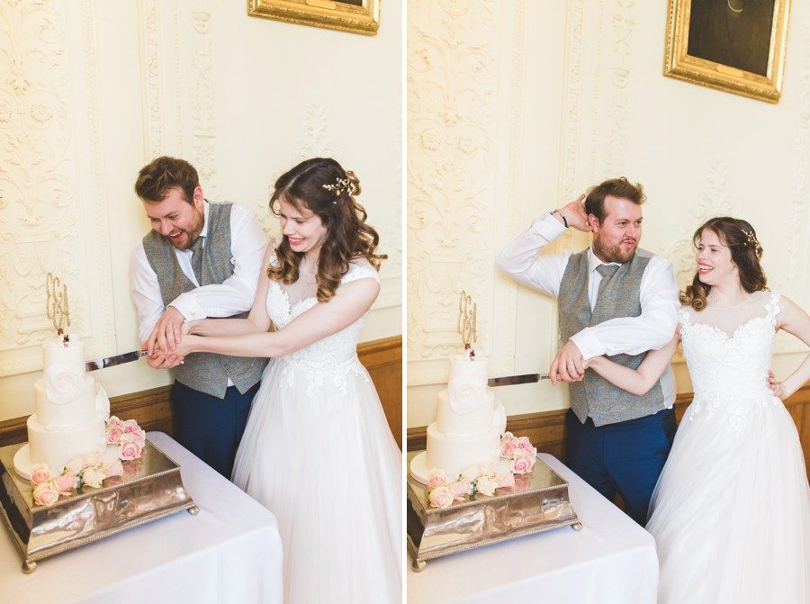 Wedding photography Shuttleworth mansion House bedfordshire