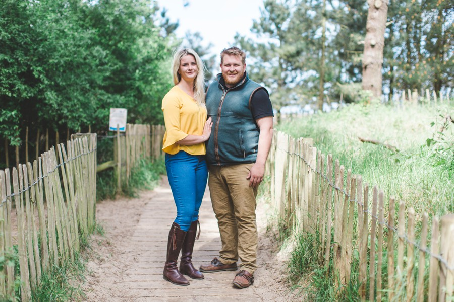 wells-next-the-see engagment shoot pre-wedding photography