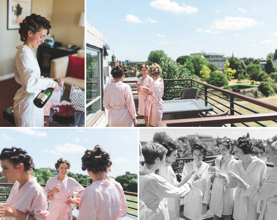 Queen's College Cambridge Wedding Photographer