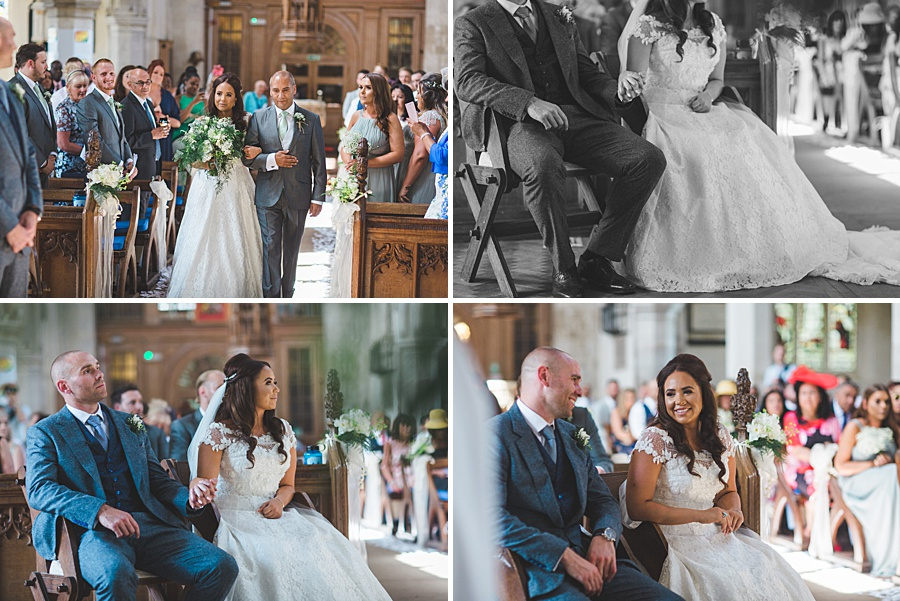 priory barns wedding photograph Natalie and Michael