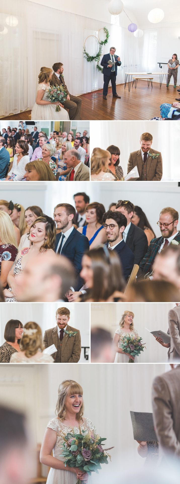 wedding photography at the letchworth centre for healthy living for Steffi and Rob