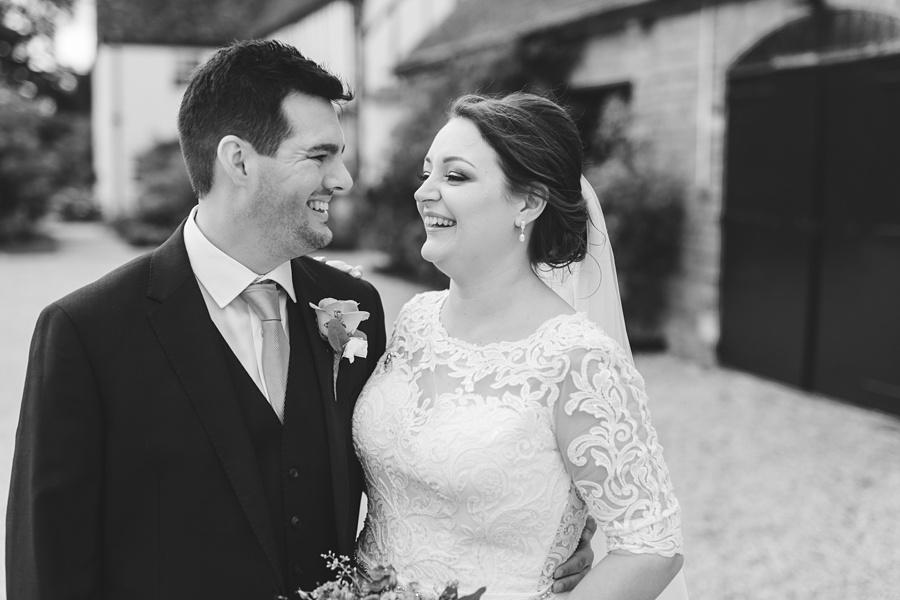 dan and sam's wedding photography at Bassmead Manor Barns