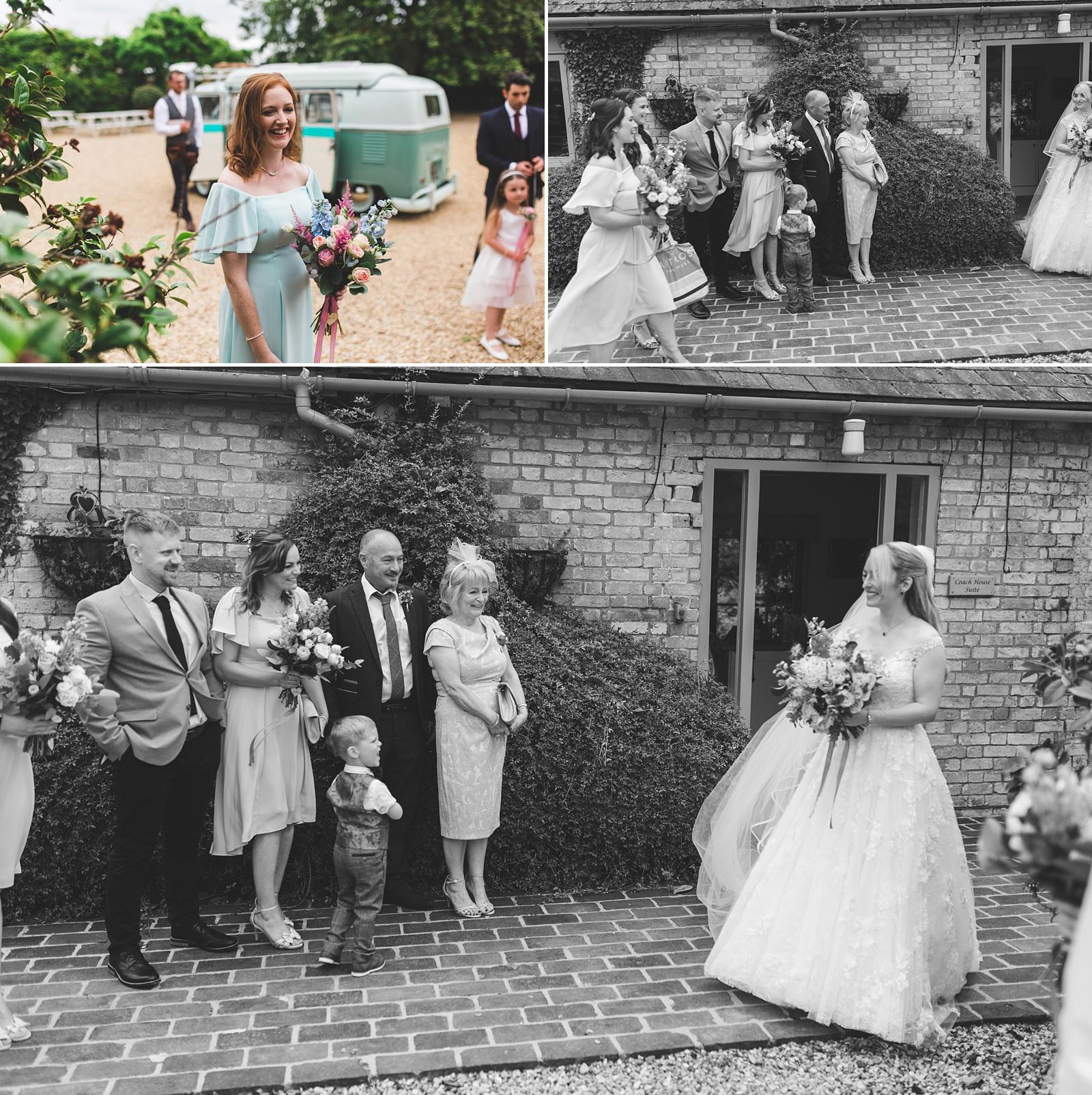 south farm wedding photographs